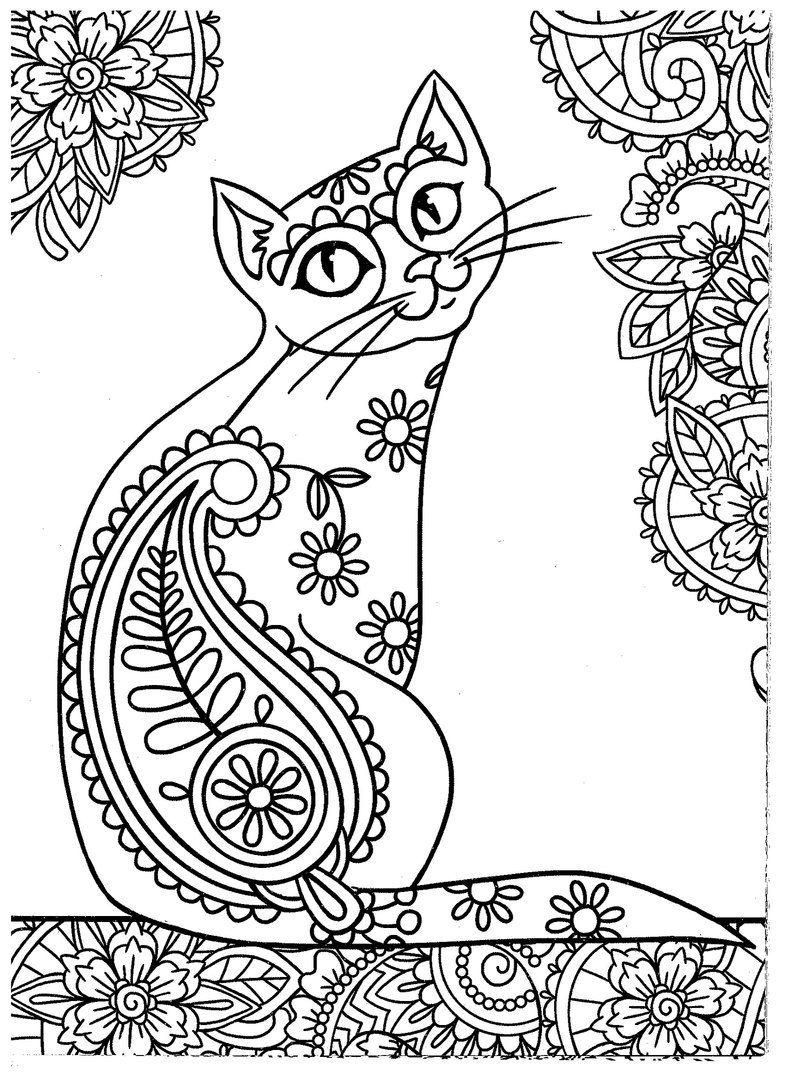 Раскраски, Зентангл и Дудлинг - это весело! | VK | COLOR- CATS ...