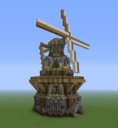 A tutorial for a very specific windmill. - Screenshots - Show Your Creation - Minecraft Forum - Minecraft Forum