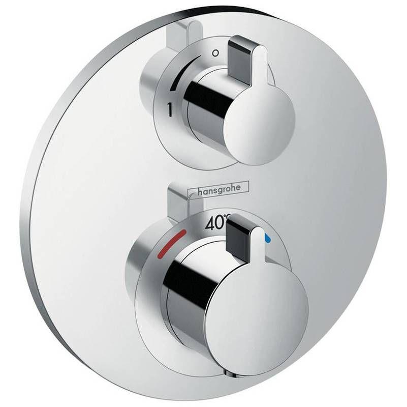 Hansgrohe Tablette De Douche Ecostat S Thermostat Encastre 1