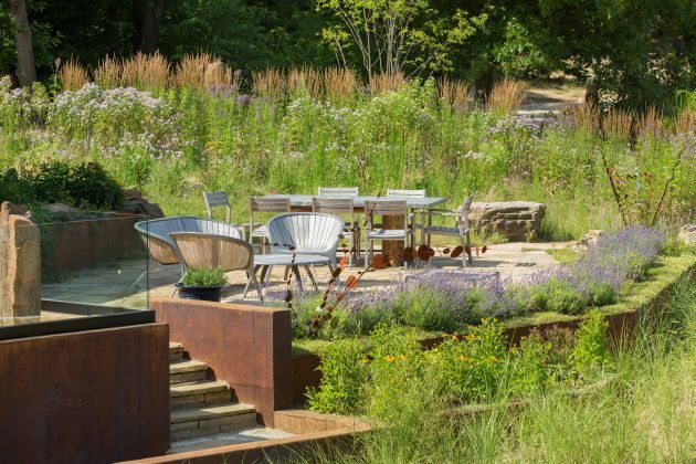 Contemporary Garden Design Ideas By Arcadia Gardens, LLC on Arcadia Backyard Designs id=80160