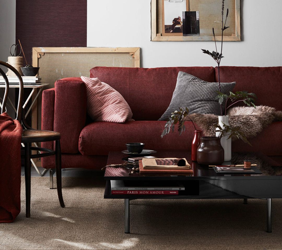 3 ways to do burgundy in your home