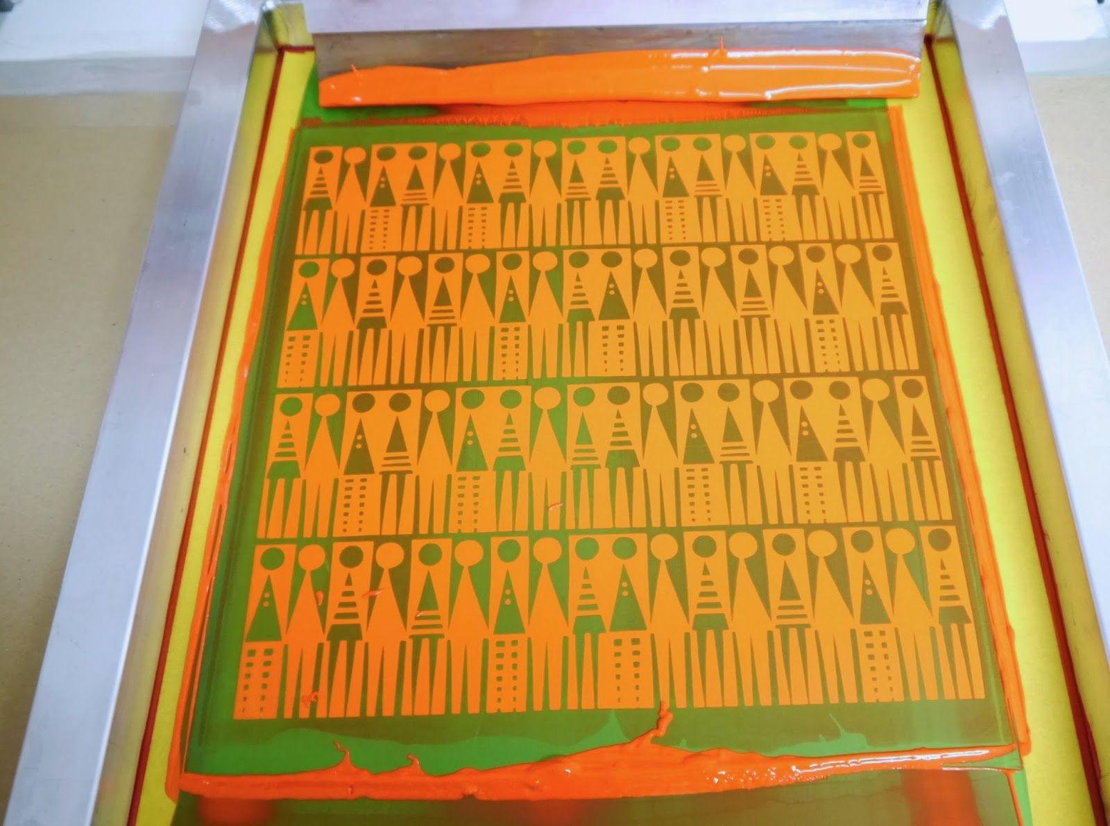 Jane Foster Blog silkscreen printing