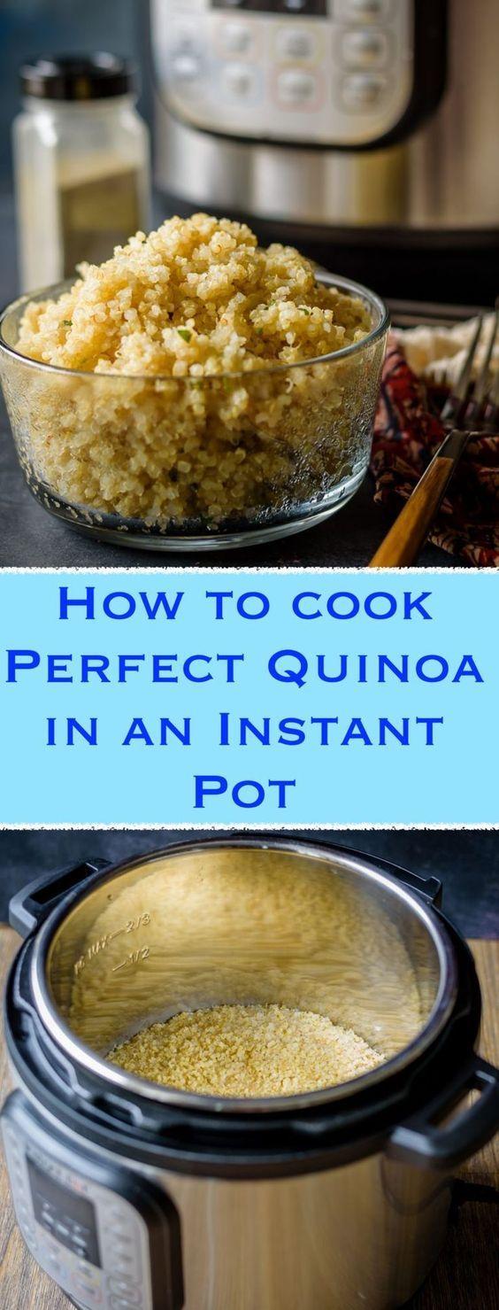 Instant Pot Quinoa | Recipe | Insta pot | Pinterest | Healthy grains ...