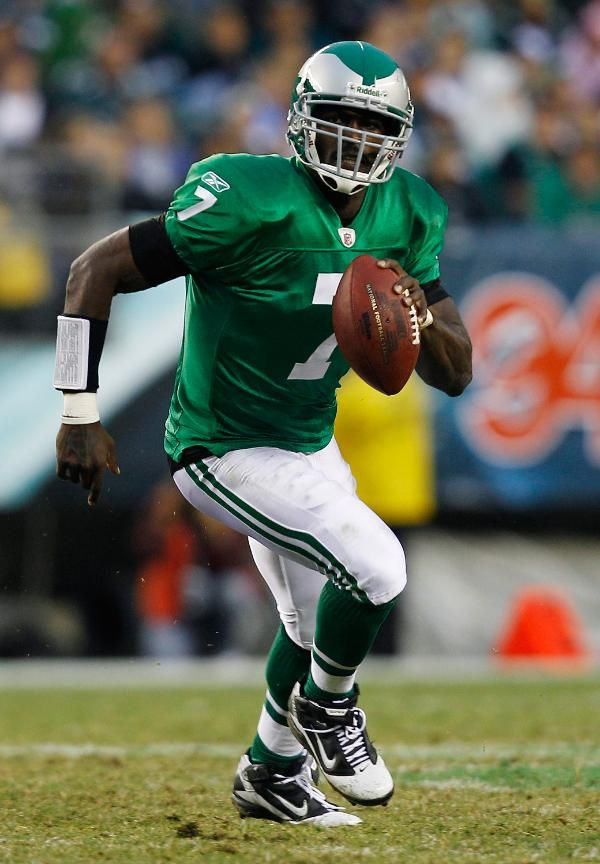 official photos 8e878 086f1 michael vick throwback eagles jersey