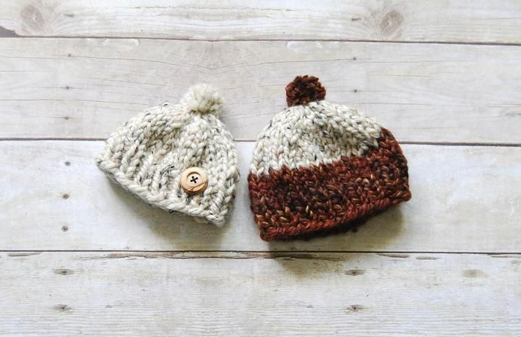One Hour Baby Toque   Quick knitts free patterns   Costura, Niños ...
