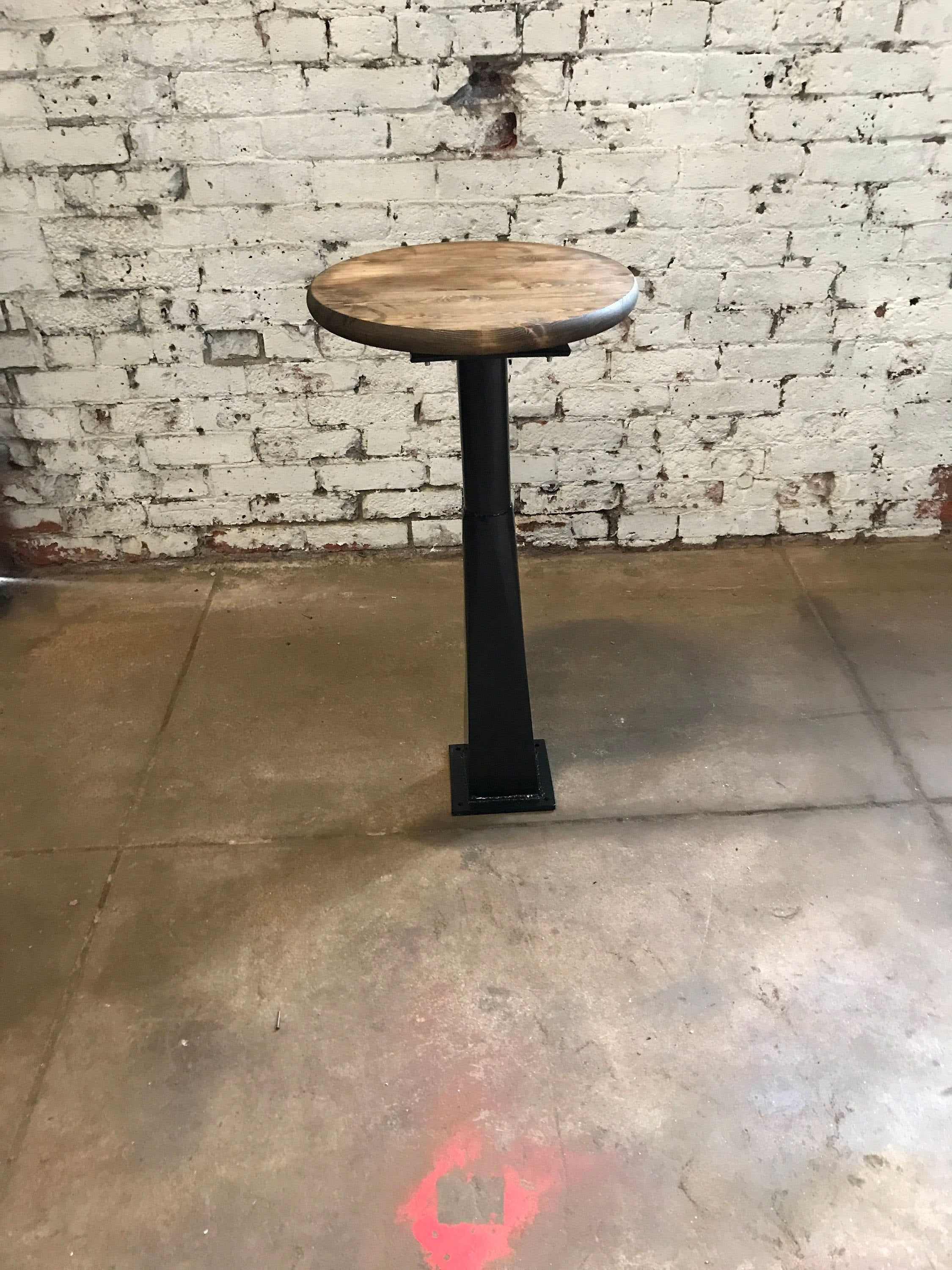 Bolt Down Industrial Bar Stools Commercial Grade For Bar And