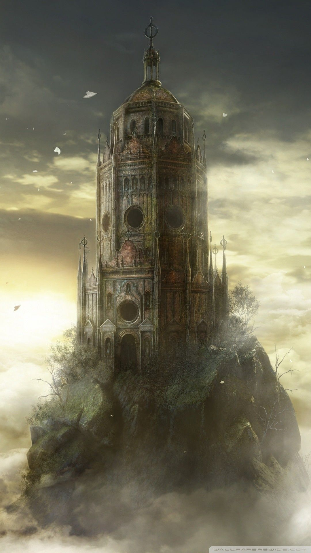 Free Dark Souls Iii The Ringed City Dlc Game Phone Wallpaper By