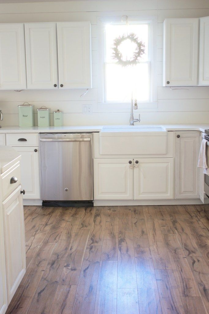 Kitchen Progress: Pergo Flooring Before and After | For the Home ...