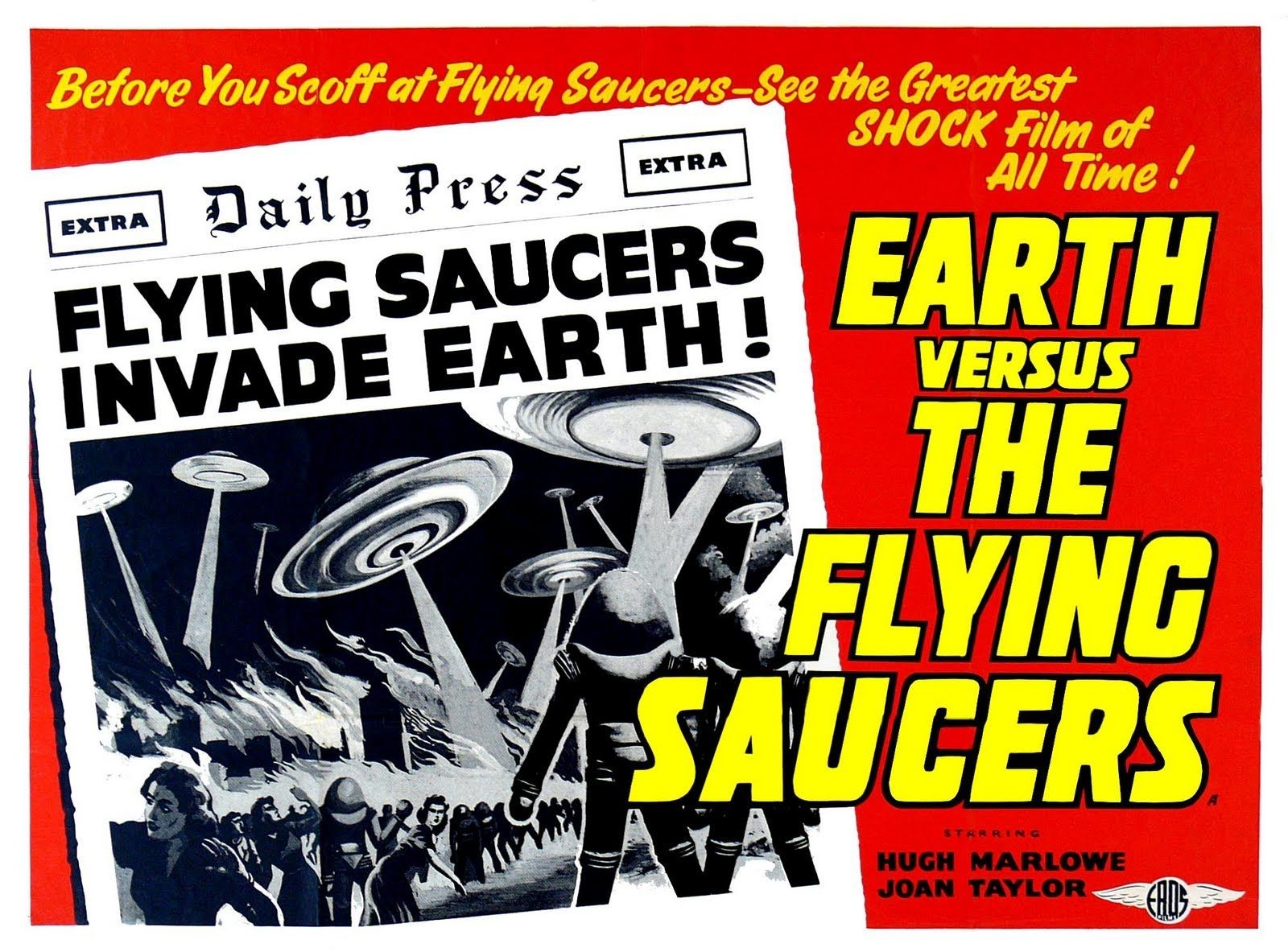 Movie review earth vs the flying saucers science