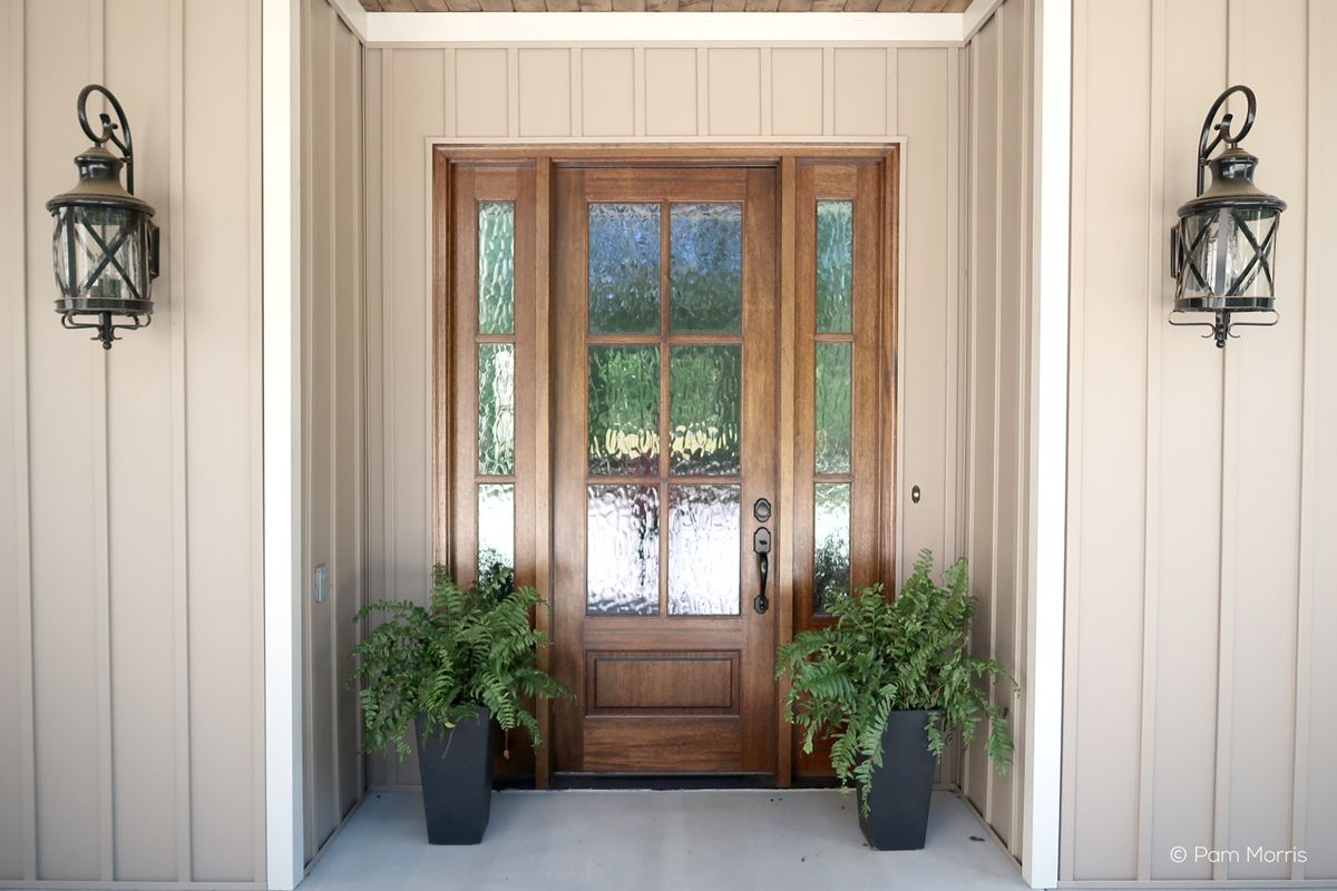 37506 Shown With Seedy Baroque Glass Simpson Doors Like This For Front Door Could Be A Four Paned G Door Glass Design Exterior Doors Beautiful Front Doors