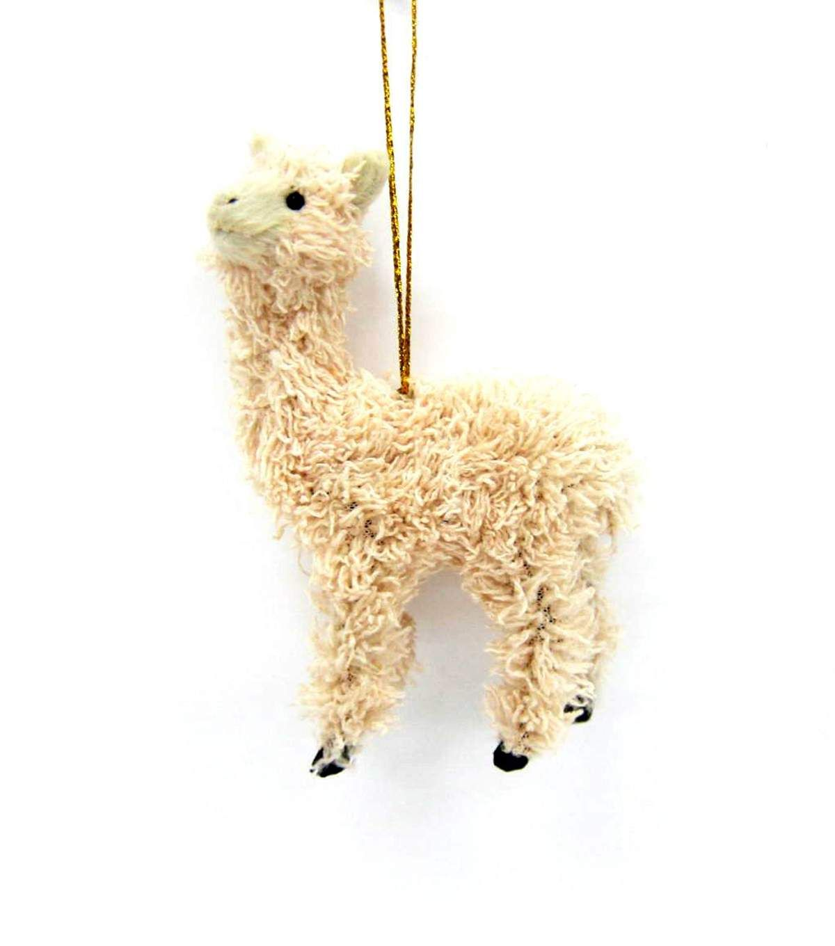 Maker\'s Holiday Furry Llama Ornament | Christmas Trees | Pinterest ...