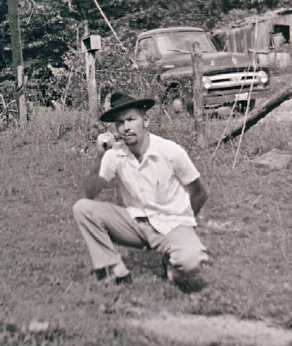 My uncle David sporting a goatee before they were mainstream 1955