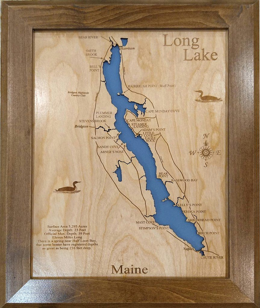 Long Lake, Maine - Wood Laser Cut Map   Long Lake Maine ... on state lakes map, anchorage lakes map, tallahassee lakes map, quebec lakes map, raleigh lakes map, germany lakes map, portland lakes map, catskills lakes map, northern ca lakes map, northeast pennsylvania lakes map, france lakes map, maine coastal towns vacation, northeast ohio lakes map, rhode island lakes map, lakes area nisswa mn map, belgium lakes map, northern mexico lakes map, nv lakes map, maine fishing maps, chattahoochee river lakes map,