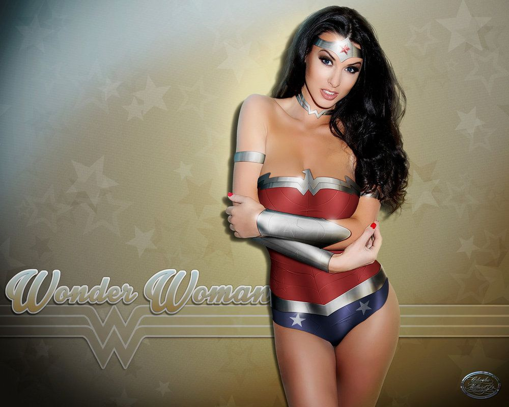 Another Wonder Woman Image Here The Base Model Is Alice Goodwin I