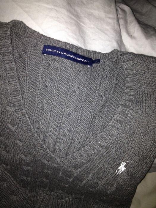 Vends ce pull Ralph Lauren Sport taille L femme authentique, cadeau de Noël  n ayant pas plus, étiquette manquante. Envoi . 6307de22ec4