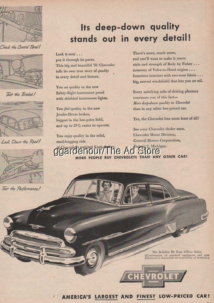1951 chevrolet styleline deluxe 4 door sedan chevy car art vintage 1951 chevrolet styleline deluxe 4 door sedan chevy car art vintage print ad publicscrutiny Choice Image