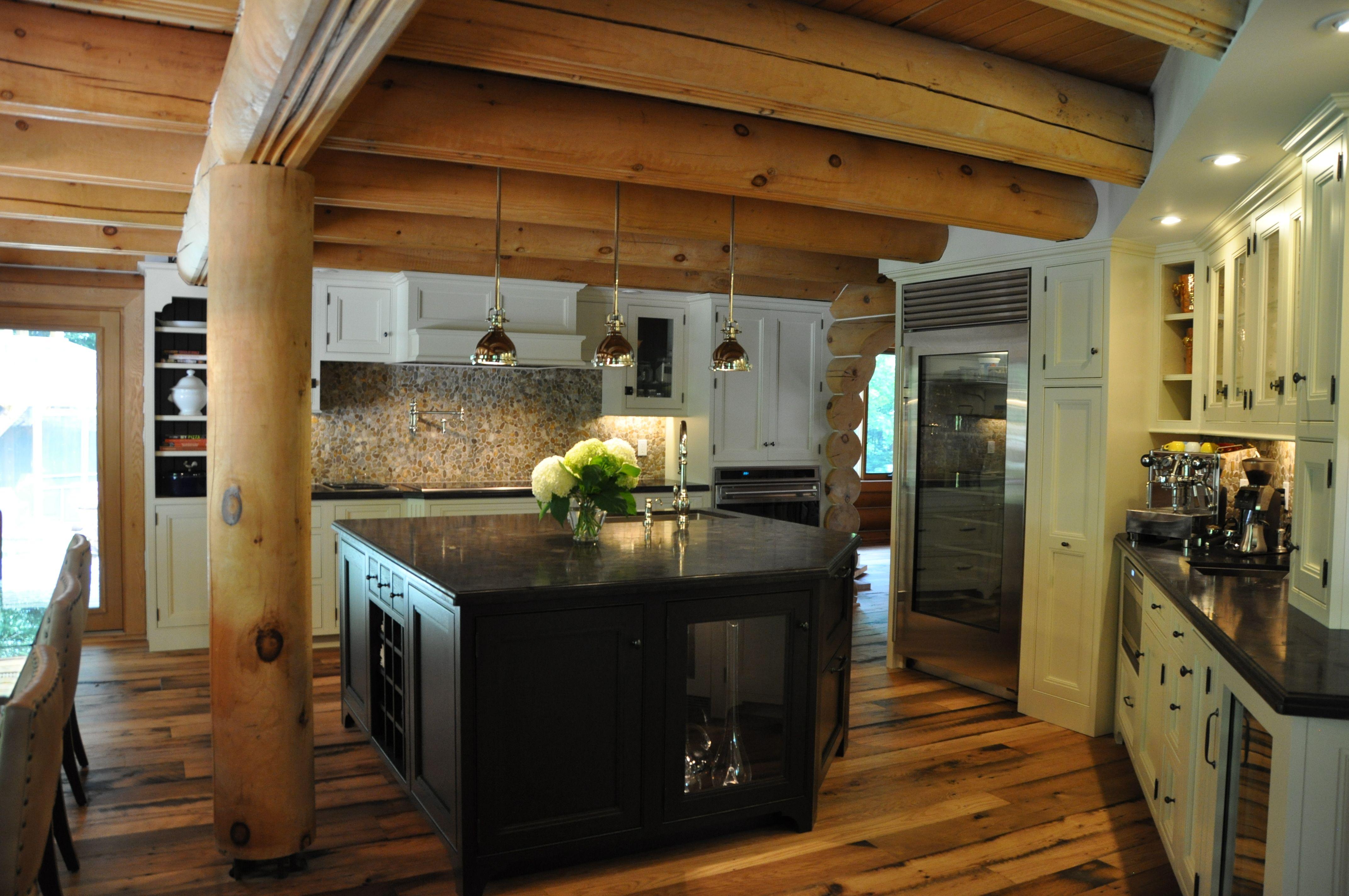 Functioning Log Cabin Kitchen My Log Cabin Ideas In 2019