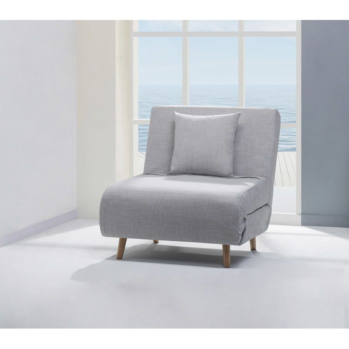 Reviews For Mercury Row® Wolfe Convertible Chair | Wayfair