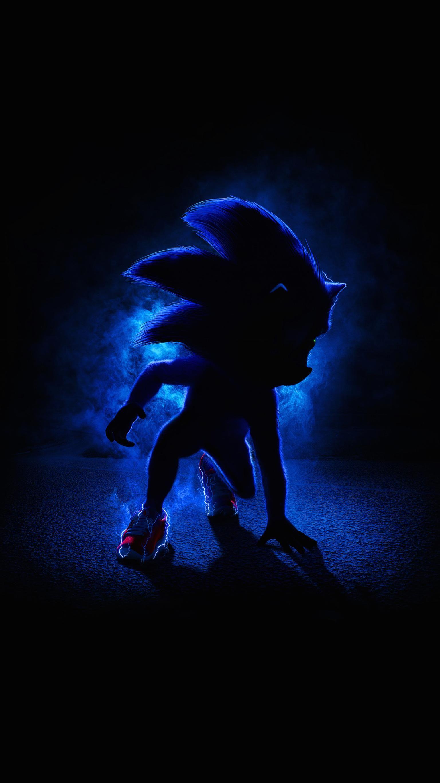 Sonic The Hedgehog 2020 Phone Wallpaper Moviemania Kartun Seni Ilustrasi Karakter