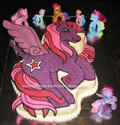 Coolest My Little Pony Cake 58 Pony cake Cake and Pony party