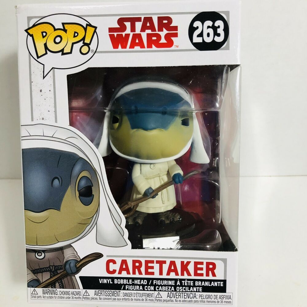 Caretaker 263 Funko Pop Star Wars The Last Jedi Vinyl Bobblehead