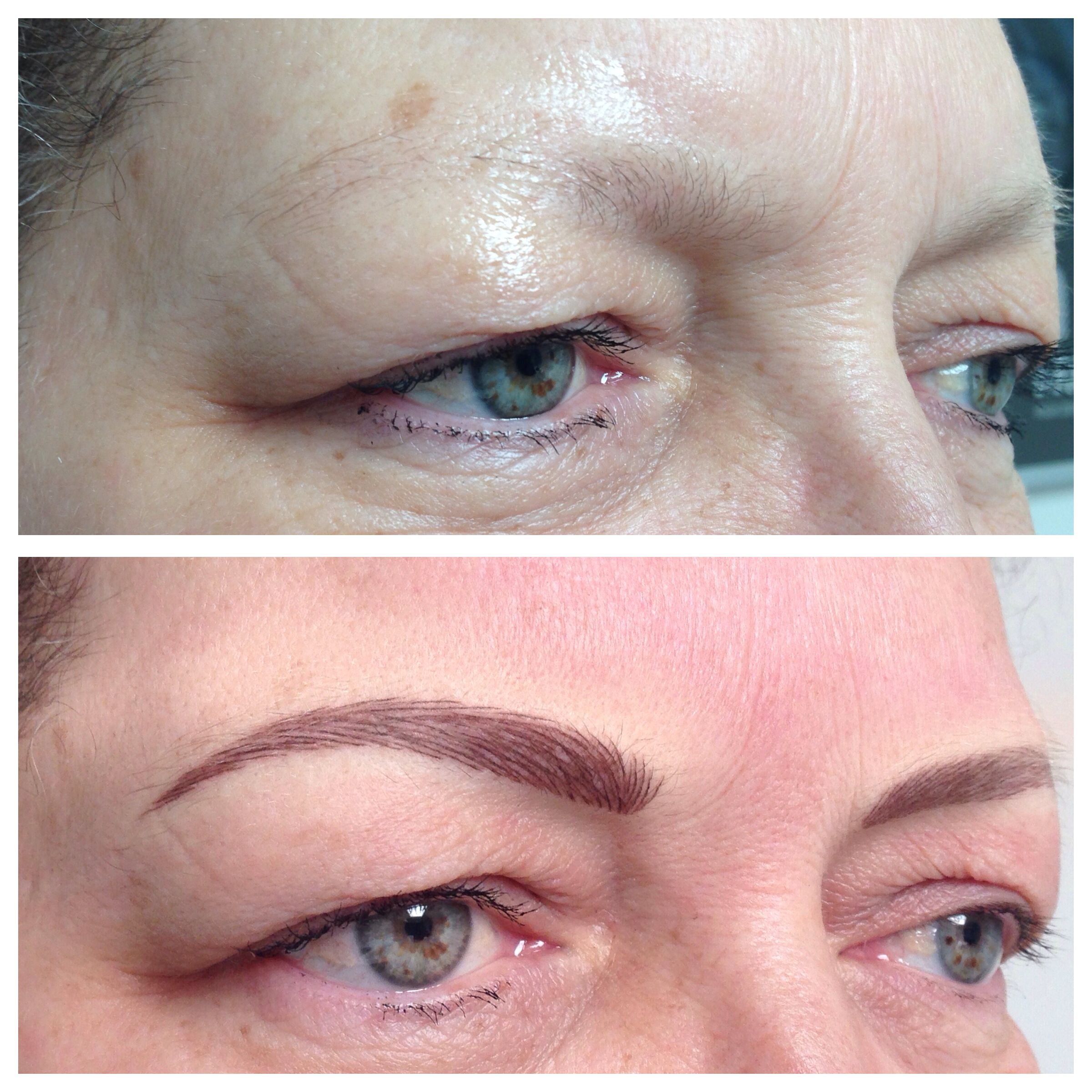 Brows Restored After Chemo X Permanent Makeup Lashes Cosmetic