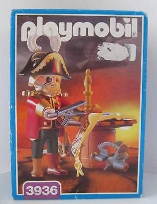 Playmobil Pirate sets/ship extra set 3936: Captain figure NEW & sealed