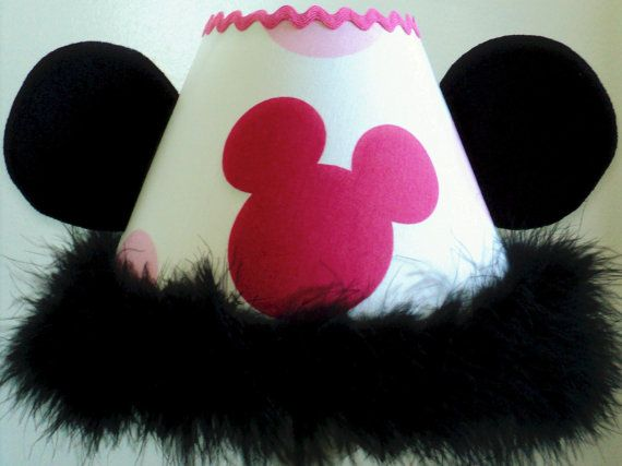 de108b824746 Child Lamp Shade m w Disney Minnie Mouse...Hot Pink Mouse Light Pink ...
