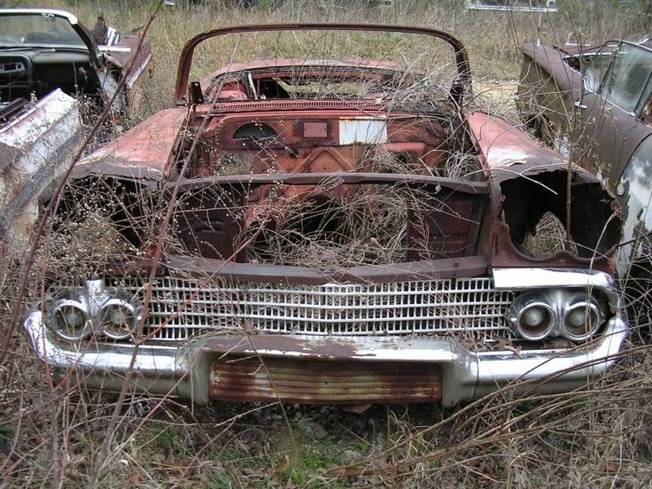 Chevy Impala Convertible Salvage Yards Pinterest