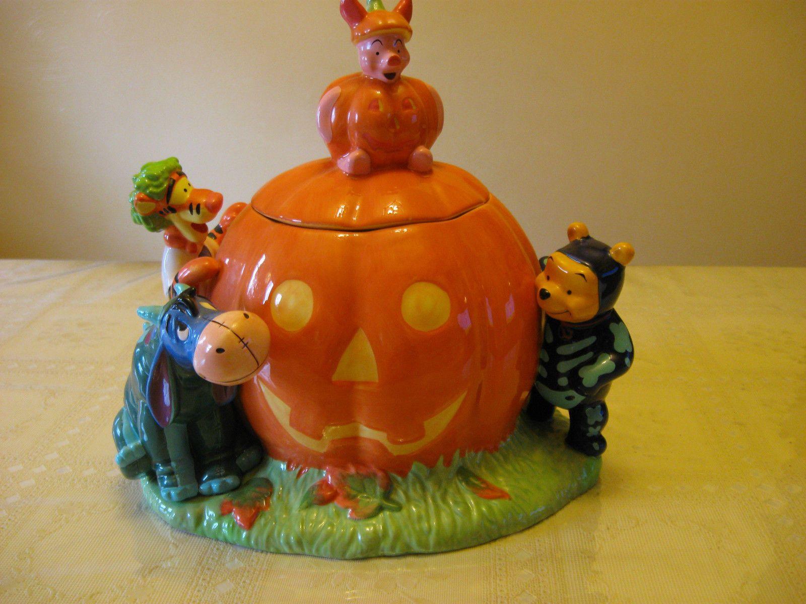 1998 Disney Winnie The Pooh Halloween Cookie Jar