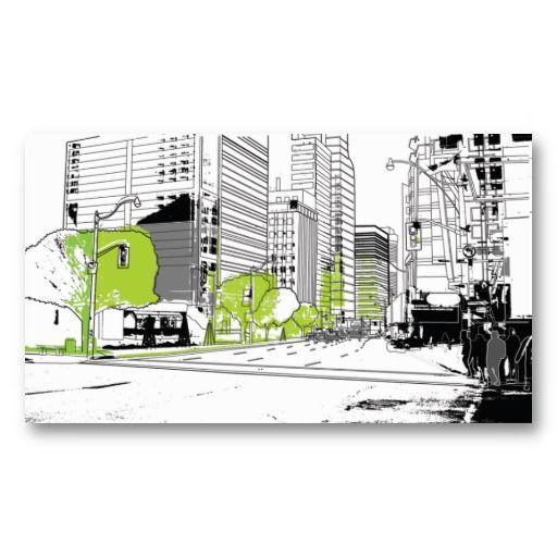 Negocios card - Tarjeta de visita Arquitectura