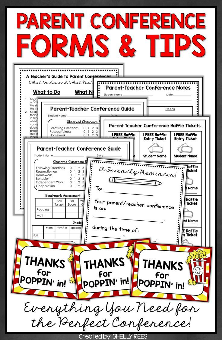 Parent teacher conference forms for parent conferences teacher parent teacher conference forms for parent conferences teacher conferences parents and teacher altavistaventures Gallery