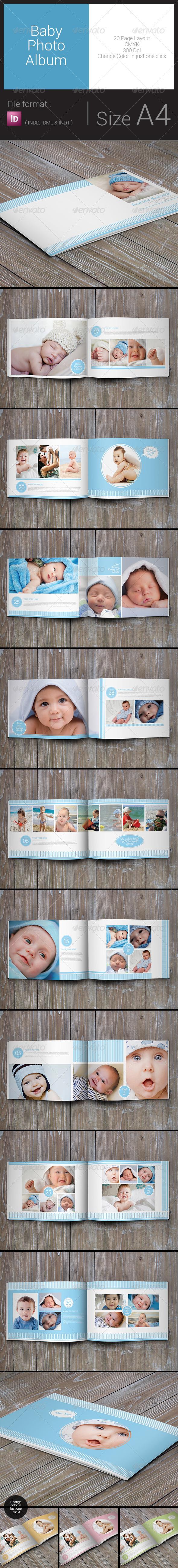 Baby Photo Album - Print Templates Download here: https ...