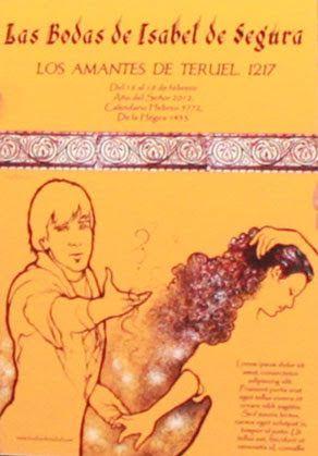 Cartel Las Bodas de Isabel de Segura 2012