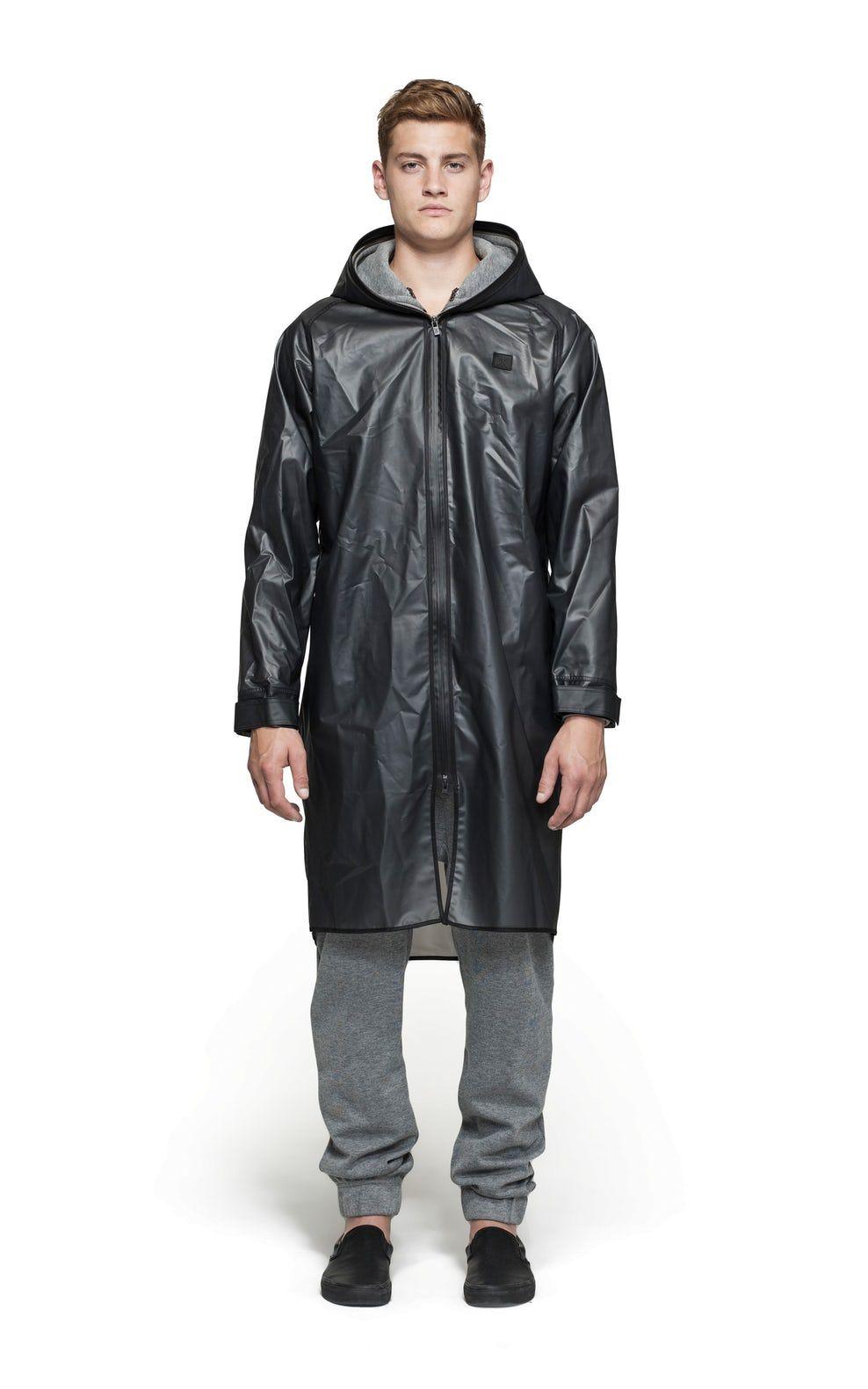 Transparent Pinterest Influence Jacket Black Imper Rain wqF1C