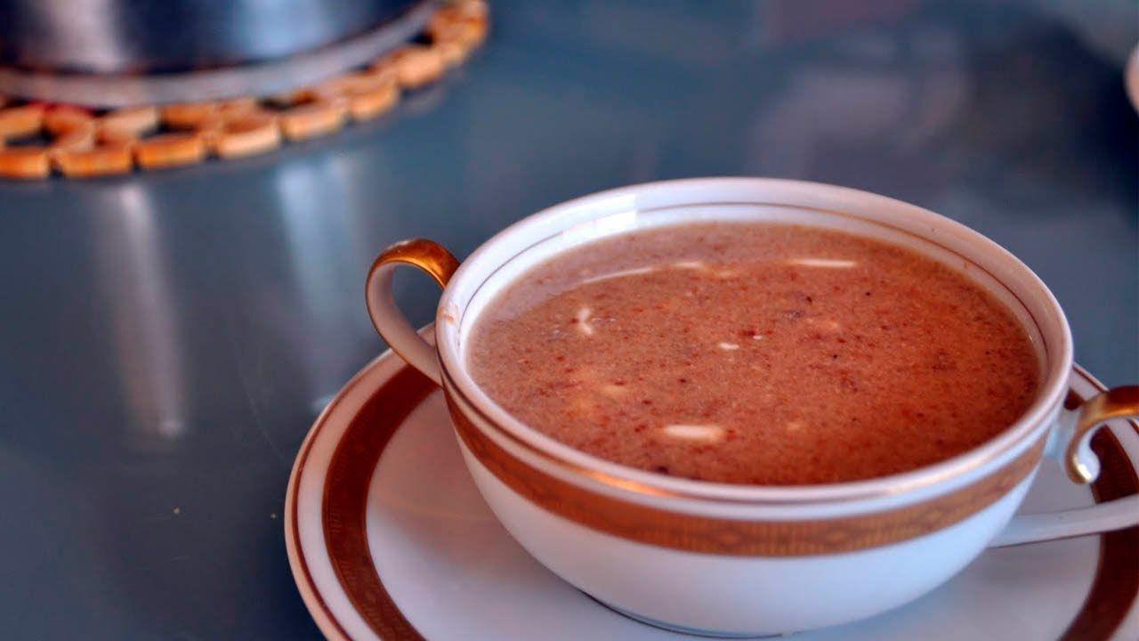 Sopa de almendras   Sopa d'ametlla - Recetas Mallorquinas