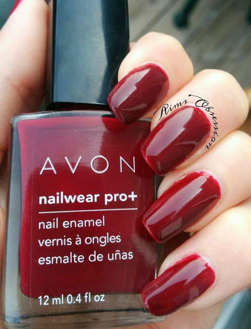 Avon - Cherry Jubilee   Aims\' Obsession   Pinterest