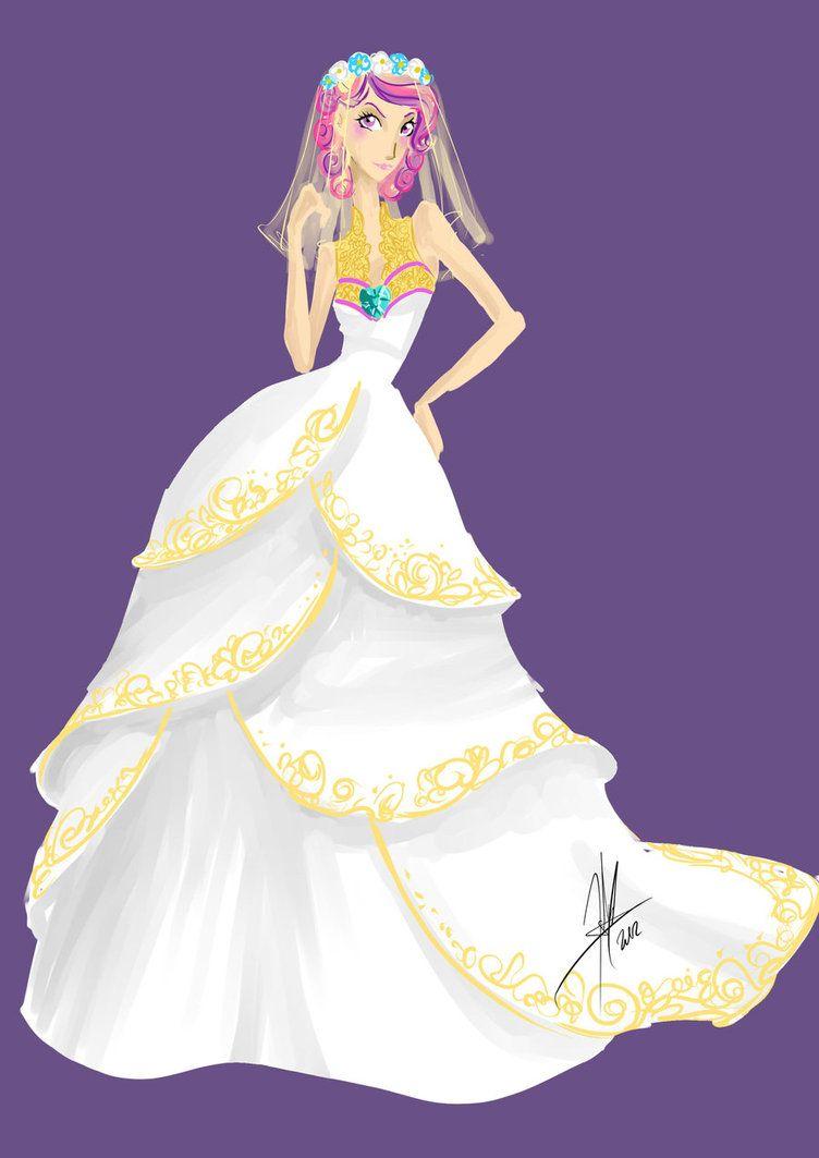 Evil Princess Cadence By Ladyamaltea On Deviantart: Canterlot Wedding Cadence Dress Princess Wedding At Websimilar.org