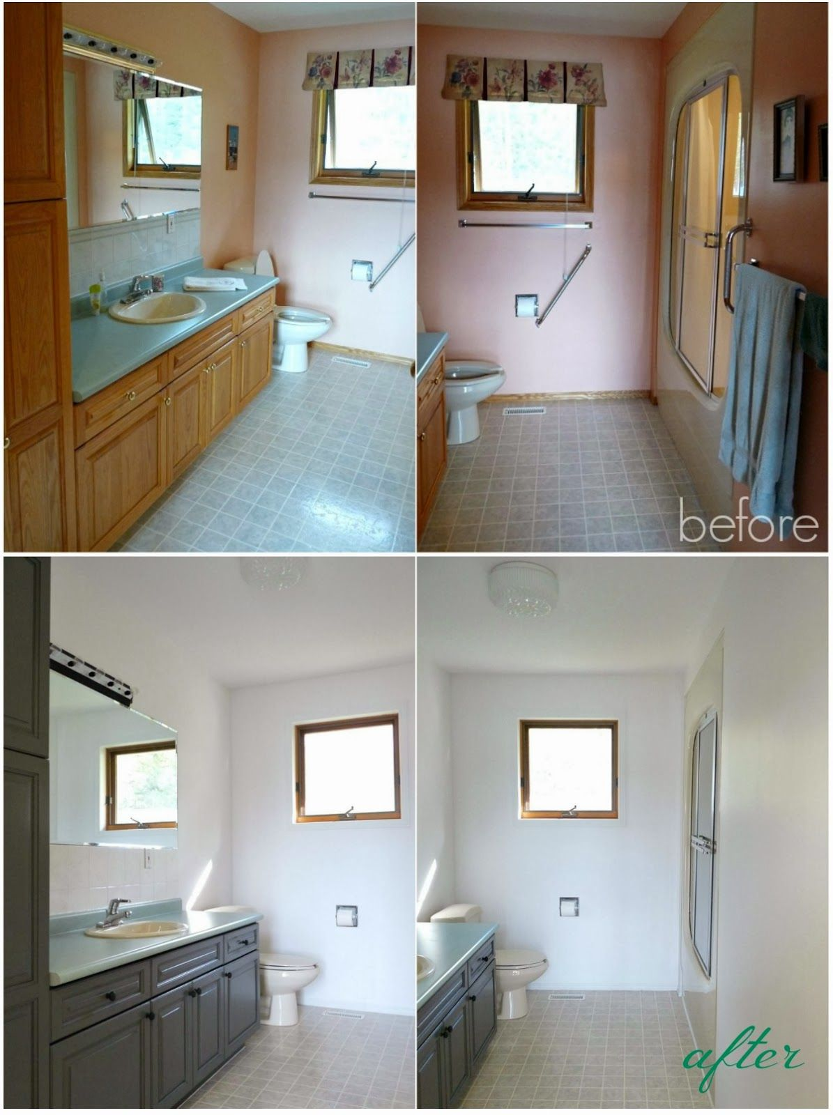Quick Easy Cheap And Impactful Bathroom Update Home Decor - Before and after bathroom updates