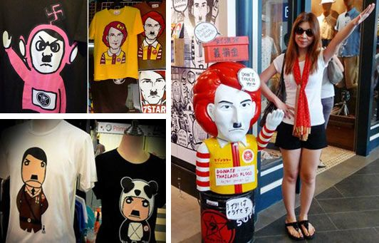 In Thailandia va di moda...Hitler