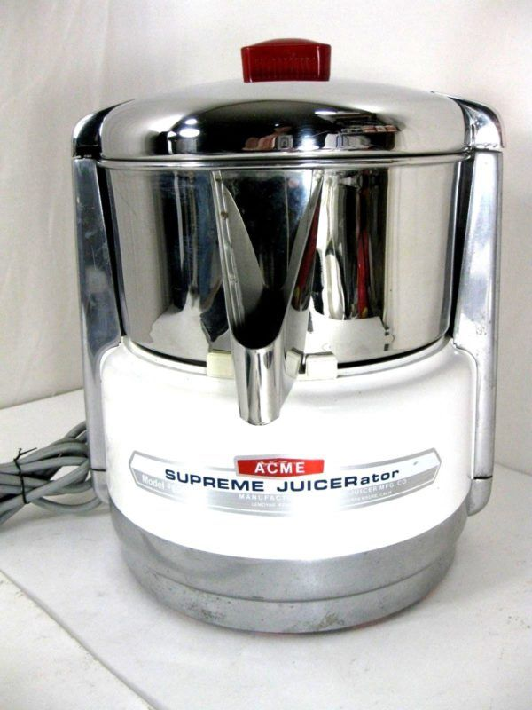 Acme Supreme JUICERator Model 6001 Vintage Juicer Kitchen