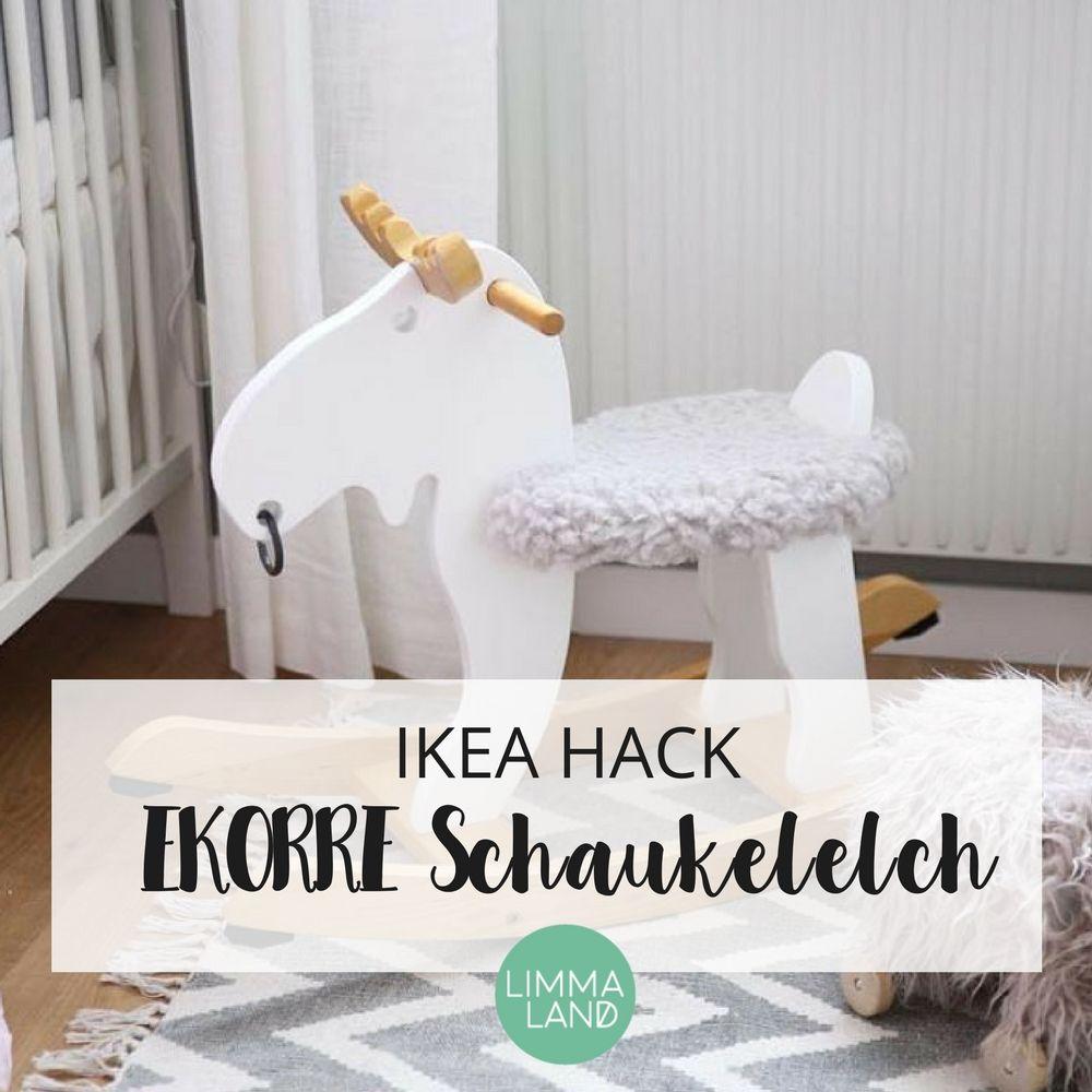 Ikea Ekorre Hack Neues Outfit Für Den Schaukelelch Lok