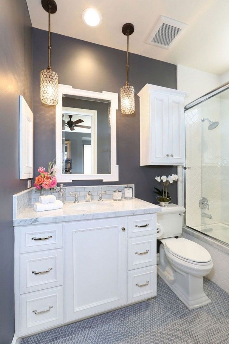 83+ Amazing Small Master Bathroom Remodel Ideas images