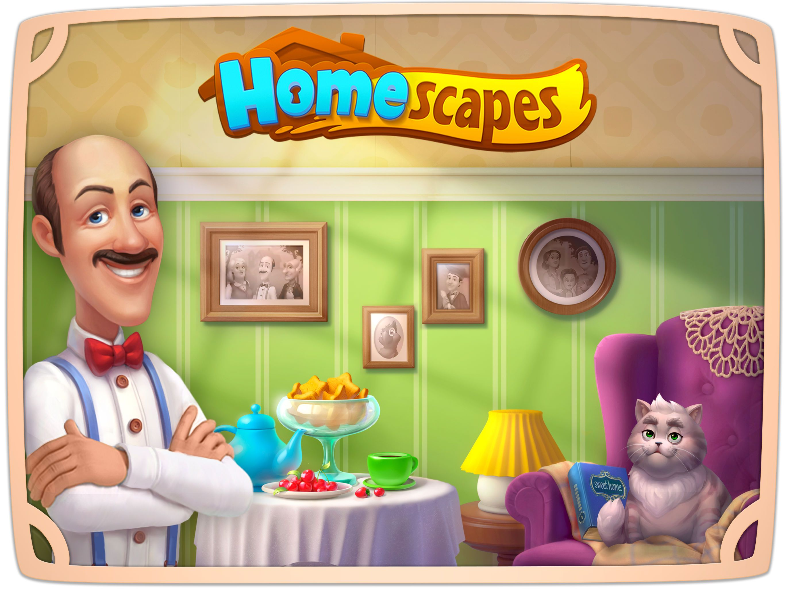 Image result for homescapes title screen