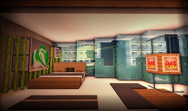 . Modern Bedroom in city   Minecraft Interior Design   Minecraft
