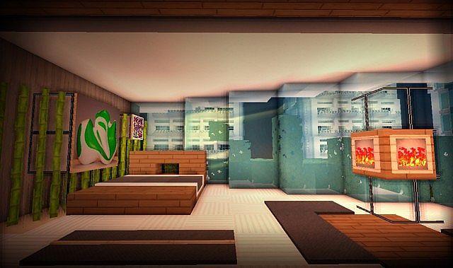Modern Bedroom in city | Minecraft interior design ...