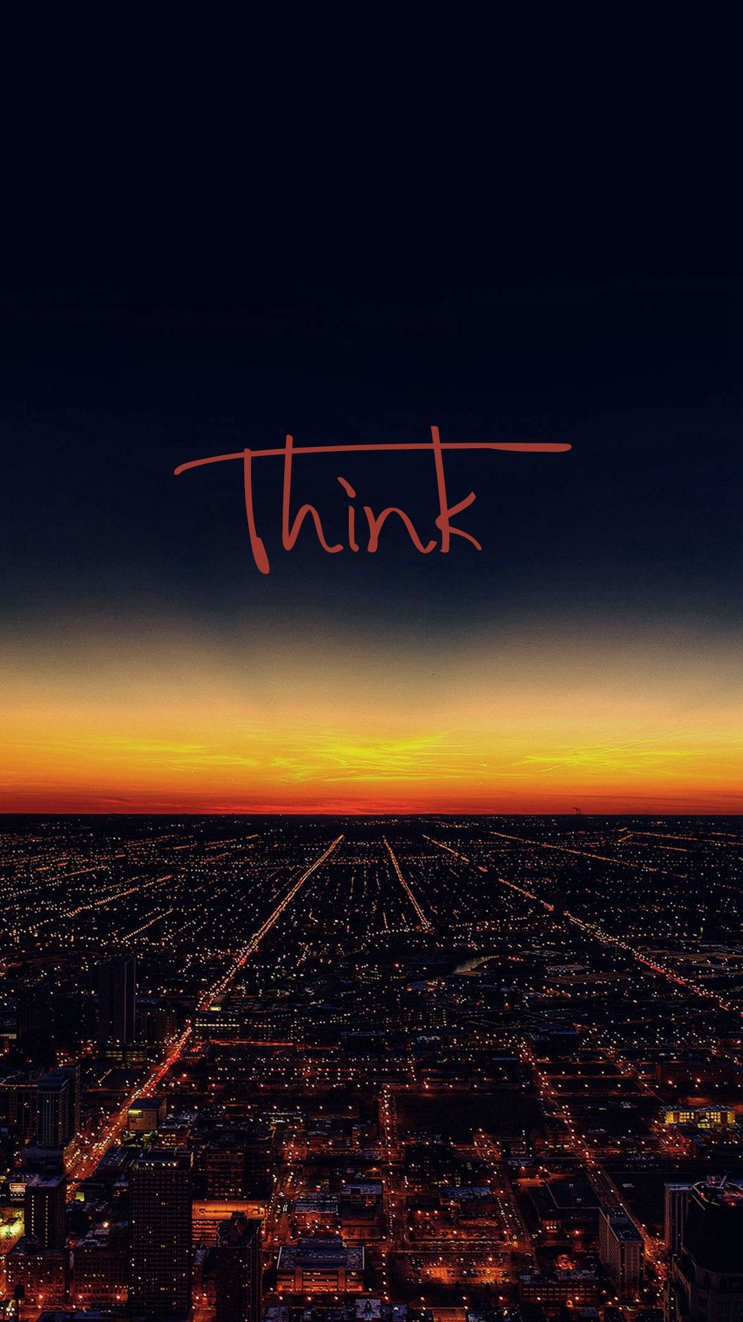 Think Wallpaper - [1080x1920] download and share beautiful image in best available resolution.