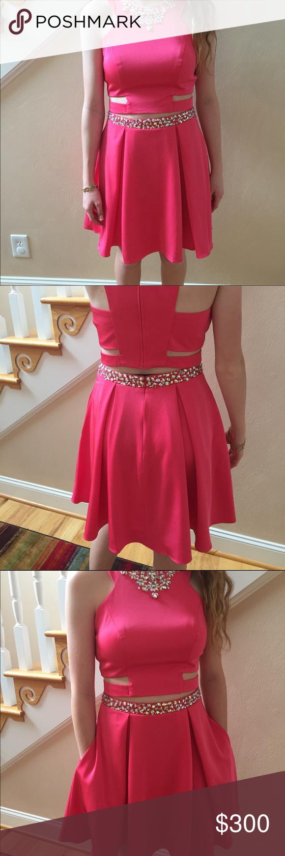 piece formal dress size piece beautiful splash formal color