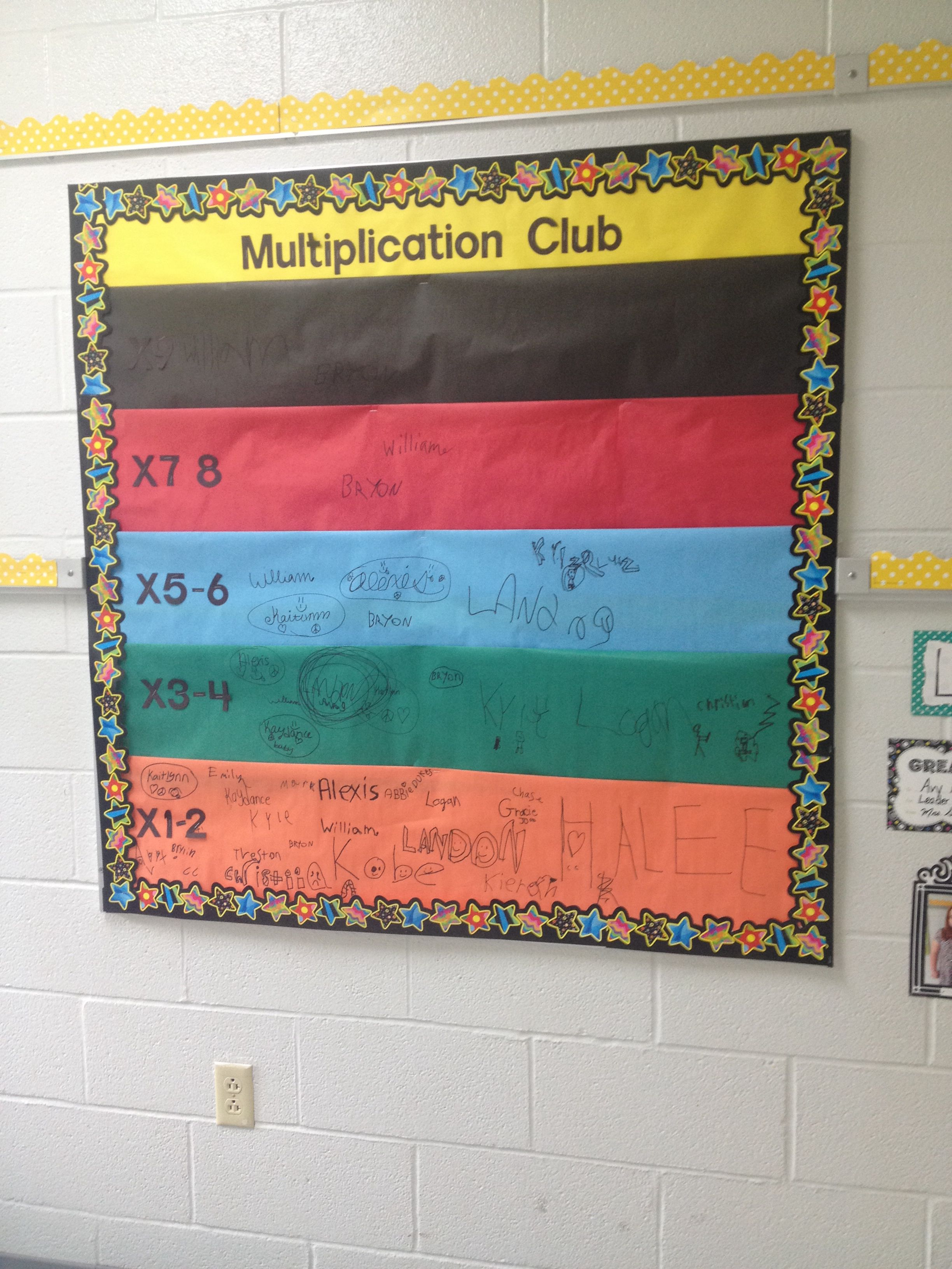 Karate belt multiplication club! Kids love it! | Math | Pinterest ...