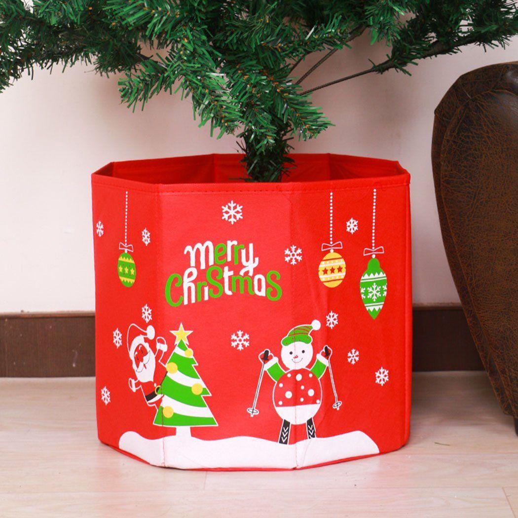 Funpa Christmas Tree Box Christmas Base Cover Foldable Tree Decoration Gift Box Christmas Prop Wa Christmas Props Christmas Tree Box Snowman Christmas Tree